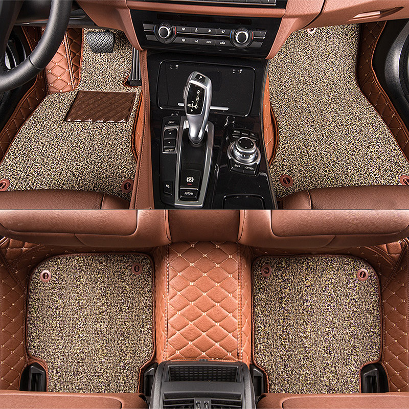 TENGRUI Custom Car Floor Mats for Audi A1 A3 A4 A4l A5 A6 A6L A7 A8 Q3 Q5 Q7 S and RS Series Auto Floor Mats Accesserios