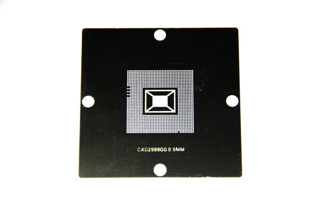Ingyenes szállítás!!! 80 x 80 mm BGA újbóli sablon PS3 2999G CPU GPU 5db / készlet