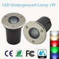 2016 New IP67 Waterproof 1W 3W AC 85-265V LED Outdoor Ground Garden Path Floor Underground Buried Yard Lamp Spot Landscape Light