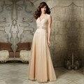 Longo Rendas Vestido de Noite 2016 Formal Frisada Alta Neck Mãe do Vestido Da Noiva Vestido de festa longo Custom Made