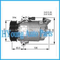 92600JD70B 92600-JD000 ac kompressor für CVC Renault Nissan Dualis X-Trail (T31) qashqai 1 6 Air Con A/C Pumpe