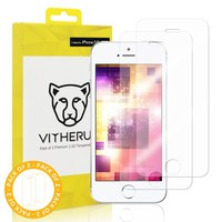 GOLD Pack of 2 Premium 2.5D Tempered Glass for iPhone 5/5s/5SE