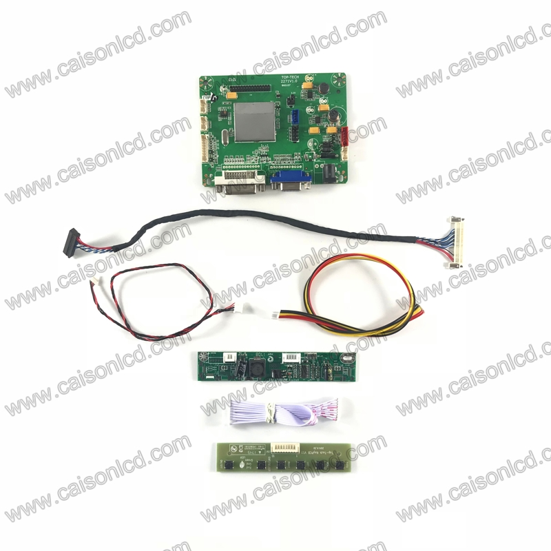 TP2271 LCD controller board support DVI VGA for LCD panel 18 5 inch 1366X768 HM185WX1 400
