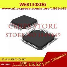 Бесплатная Доставка Diy Kit Электронные Производство W681308DG IC MCU 32BIT CORTEX 681308 W681308 3 ШТ.