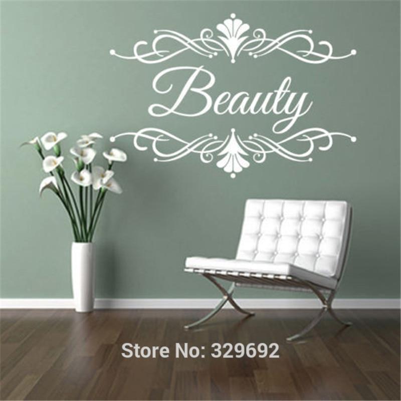 Custom Personalised Hair Salon Store Name Business Decal Decor Vinyl Lettering