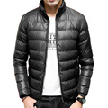 New Fashion Winter Down Jacket Ultra light Men Coat Waterproof Down Parkas Fashion Mens Outerwear Coat Size M-4XL