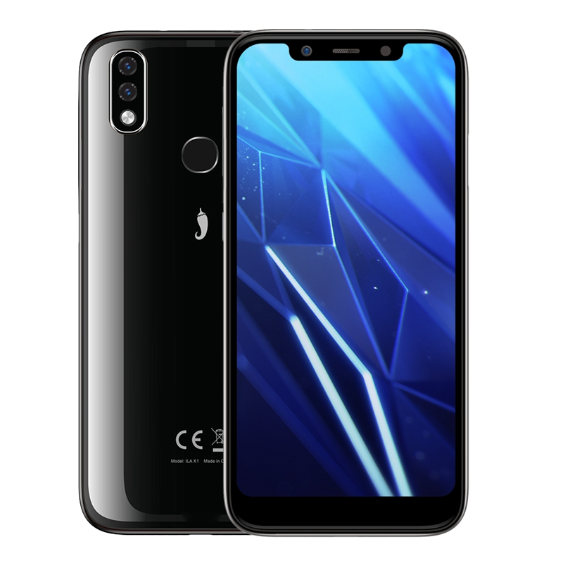 "Original iLA X1 3GB 32GB 3050mAh 5.67"" 18:9 U-Notch Screen 13MP Mobile Phone Octa Core Smartphone Android 8.1 Face ID Cellphone"