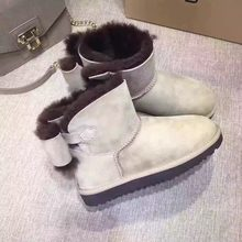 The most comfortable and warm snow boots in 2019, real sheepskin, 100% wool high quality women's shoes, free delivery(China)