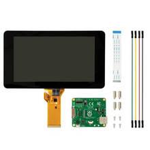 Elecrow Raspberry Pi 3 Display Touch Screen 7 Zoll 10 Finger Monitor LCD TFT 800x480 Einfach Verwenden Display für Raspberry Pi 3B 2B +