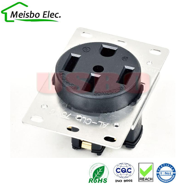 wiring 4 plug outlet promotion shop for promotional wiring 4 plug american 250v 50a 4 hole nema 14 50r us generator outlet anti off industry power socket plug inline wire connector