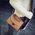 TTOU Preto Flap Bag Senhoras Bolsa Da Forma Ocasional Pequena Bolsa Das Mulheres e Bolsa de Couro PU Bolsa de Ombro Mensageiro Saco Crossbody