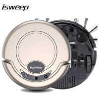 Robot aspirador Isweep para el hogar 1000 PA, fregador seco y húmedo, barredora inteligente S320