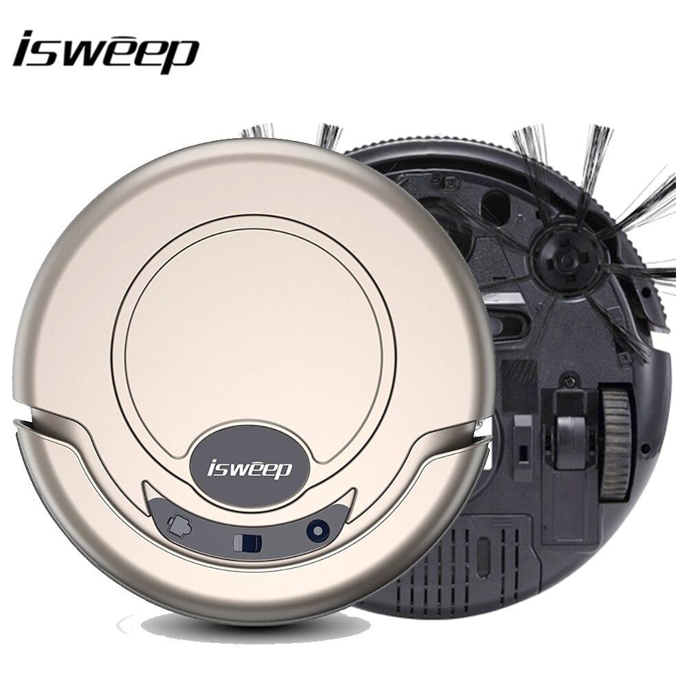 Isweep Robot aspirador para el hogar 1000 PA seco y mojado Mopping barredora inteligente S320