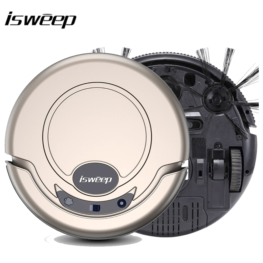 Isweep Vacuum Cleaner Robot for Home 1000PA Dry and Wet Mopping Smart Sweeper S320 image