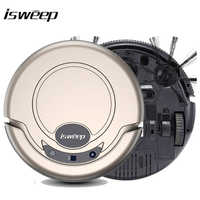 Isweep Vacuum Cleaner Robot for Home 1000PA Dry and Wet Mopping Smart Sweeper S320