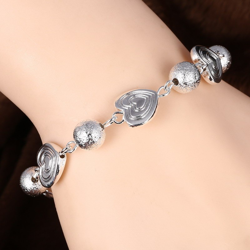 GS7 new fashion silver jewelry have three colors choose for women birthday gift