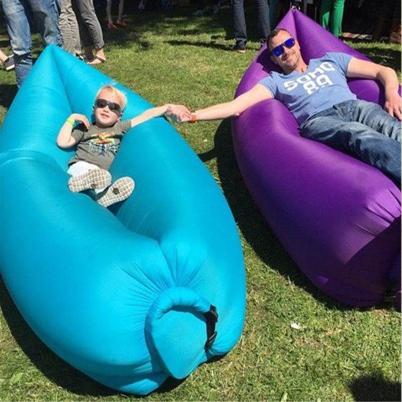 air bag chair paul mccobb chairs dropshipping inflatable bean for kids adult camping sleeping bed outdoor relax banana lazy