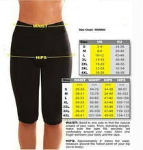 Neoprene Sauna Body Shaper Slimming Pants