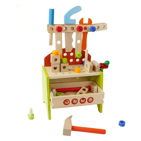 Model Building Kits Models & Building Toy Children assembled toys nut tools blocks wooden learning toys wholesale hot new 2018