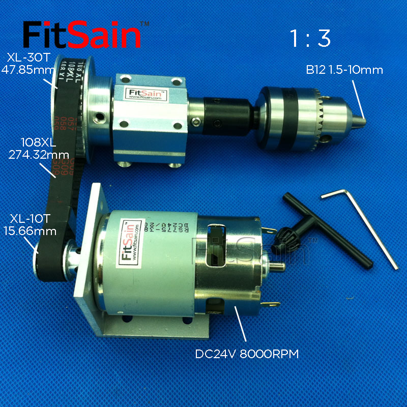 FitSain-XL 1:3 775 B12 DIY bench saw spindle precision micro table saw transmission bearing seat small lathe micro spindleFitSain-XL 1:3 775 B12 DIY bench saw spindle precision micro table saw transmission bearing seat small lathe micro spindle