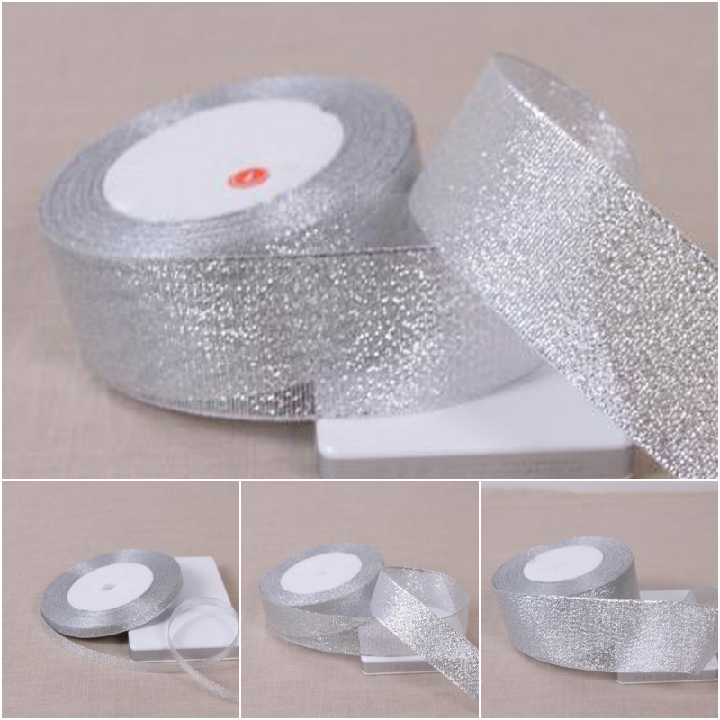 1 Roll Polyester Colorful Ribbon for Gifts Wrapping Wedding Decoration 1cm