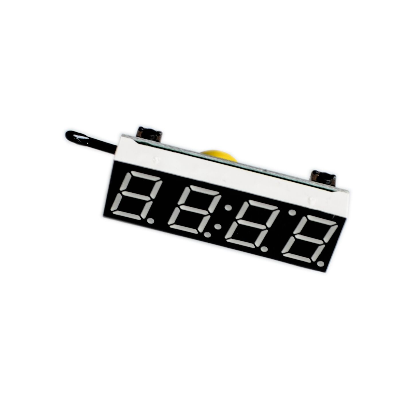 3 in 1 diy digital clock temperature voltage kit r8205 5 30v dc electronic red blue green led