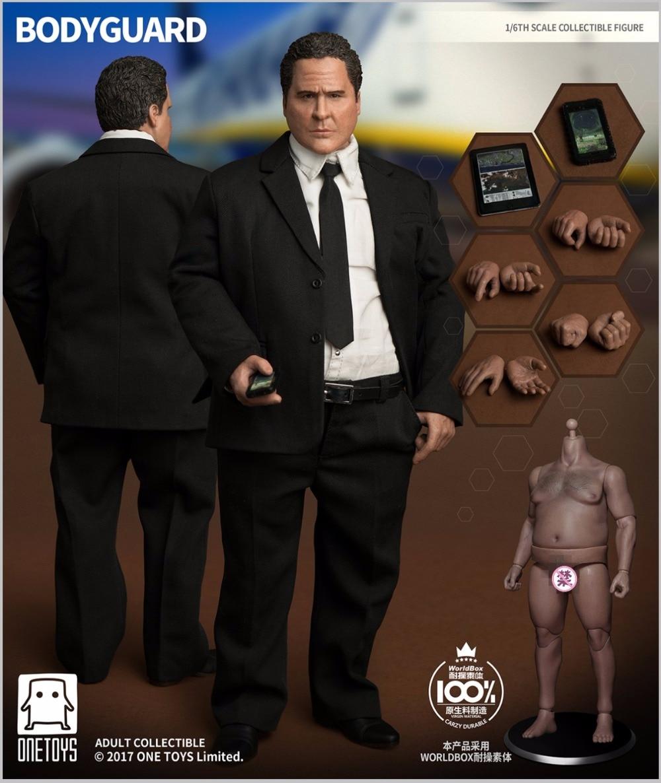 Jeden zabawki i na całym świecie pudełko OT 005 osobisty ochroniarz w/trwałe pulchne ciało 1/6 rysunek w Figurki i postaci od Zabawki i hobby na  Grupa 1