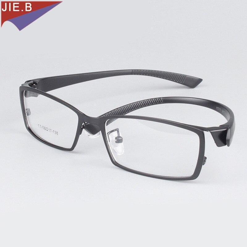 JIE.B Business Vollrand Titanlegierung Brillengestell für Männer - Bekleidungszubehör