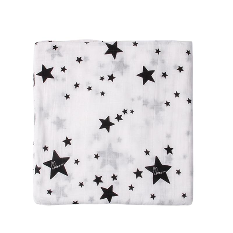 Super Soft Baby Blanket For Newborns Soft Cotton Bamboo Fiber Baby Swaddle Multipurpose Stroller Cover Wrap For Infant