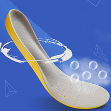 3D Comfortable breathable Orthotics flat foot Insole Men Sport Running Insoles Insert Shoe Pad Arch Support Cushion FM0998
