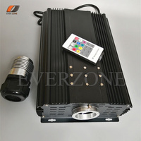 Superior Brightness 75w LED Optic Fiber Cable Light Source with RF Controller