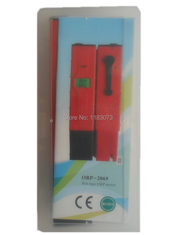 Digital Pen-type ORP Meter Oxidation Reduction Potential ORP-2069 For Swimming Pool Water Laboratory Factory  Free Shipping  цены