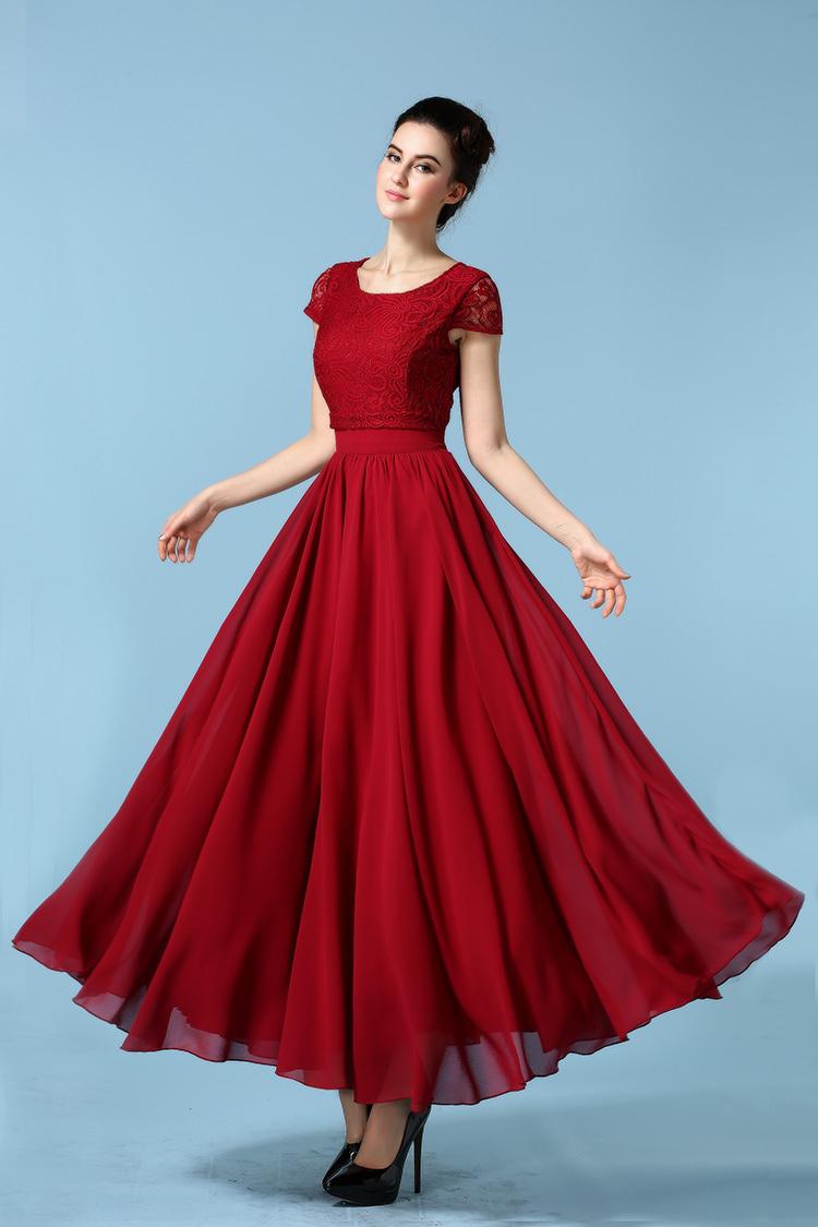 03430580e Primavera verão rendas vestiti donna senhoras verão tunique bordado vestido  de patchwork do vintage mulheres chiffon formal robe femme ropa