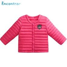 Encontrar Весна Твердые Тонкие Легкие Пальто для Девочки Мальчики Зимние Парки Верхняя Одежда Случайные Хлопка Куртки для Детей 24 М-8 Т, DC055