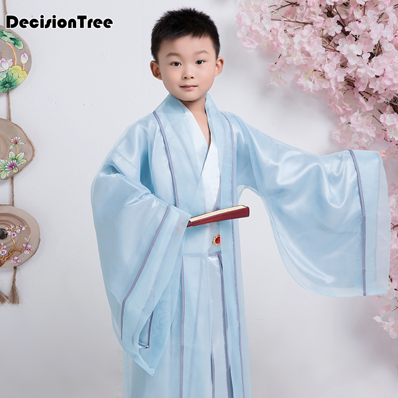 2019 new children costume hanfu ancient chinese folk dance boy hanfu costume for photography or childrens day stage clothes2019 new children costume hanfu ancient chinese folk dance boy hanfu costume for photography or childrens day stage clothes