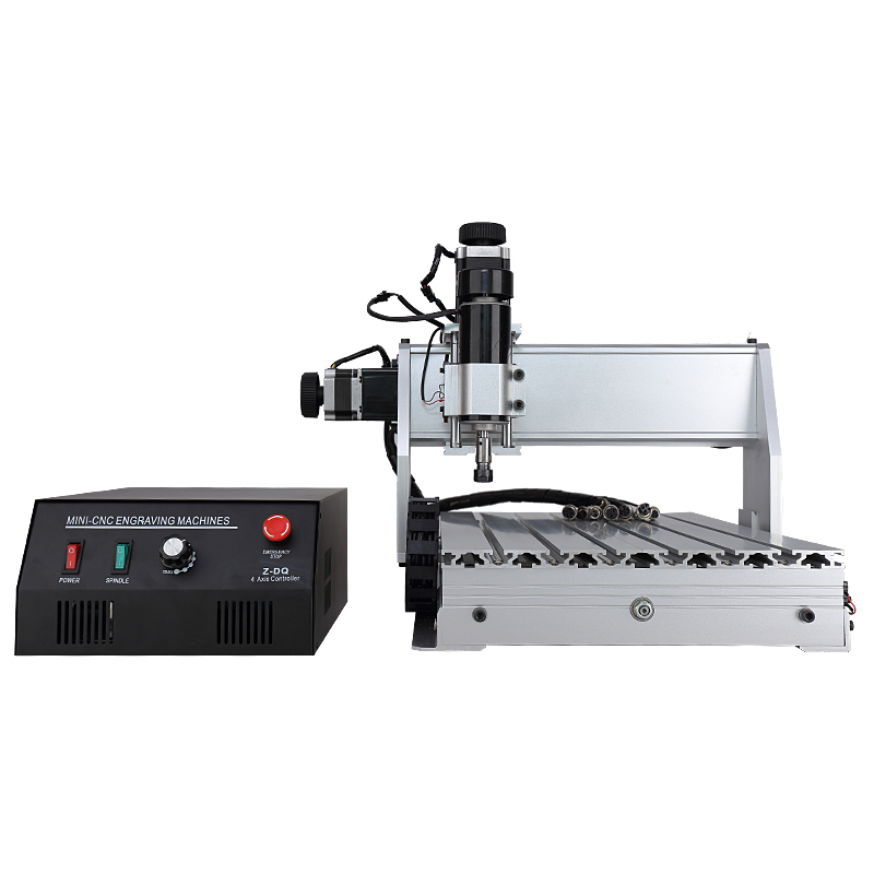 Mini Engraving Machine CNC 3040 Z-DQ 3-axis 500W CNC Router Engraver Ball Screw Cutting Milling Drilling For Wood PCB Board бензопила elitech бп 52 20