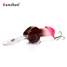 Banshee 85mm 27g  JJ01 Valentine's gift Big Deep Diving Dick Rattle Minnow Crankbait Fishing Lure Hard Artificial Bait