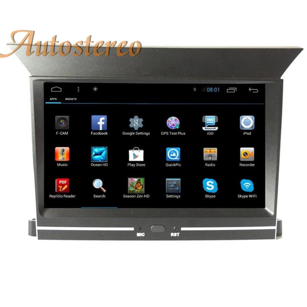 Android7.1 Car No DVD Player GPS navigation For HONDA PILOT 2009 2010 2011 2012 head unit multimedia radio player tape recorder