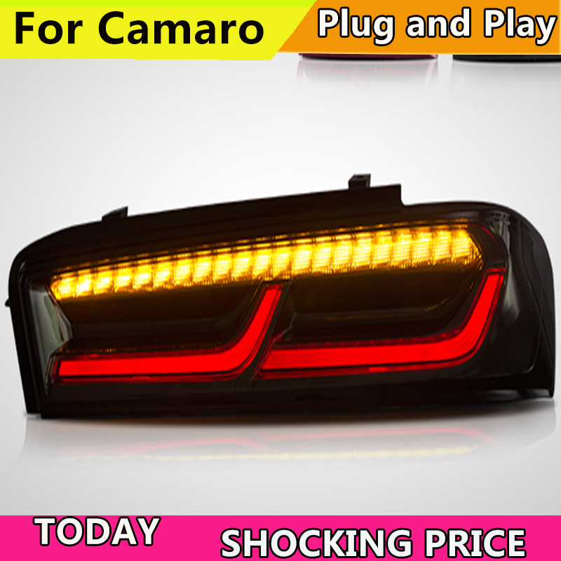 Taillight Camaro-Tail-Lamp Sequential-Indicator LED Turn-Signal Doxa for