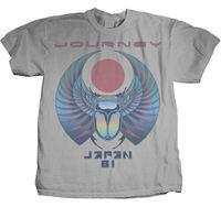 JOURNEY Japan 81 T SHIRT S M L XL 2XL New Official Hi Fidelity Merchandise Gift Print T shirt,Hip Hop Tee Shirt