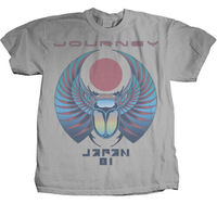 JOURNEY Japan 81 T SHIRT S M L XL 2XL New Official Hi Fidelity Merchandise Gift Print T shirt,Hip Hop Tee Shirt