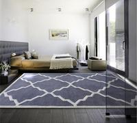 Fashion Manual Acrylic Fibres Carpet Bedroom Tea Table Living Room Carpets Can Be Customized Europe And