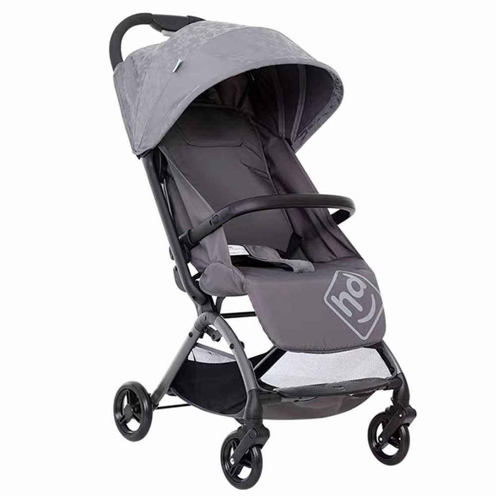 Lightweight Folding Pram Foldable High Landscape Pram Baby Stroller Ultra Lightweight