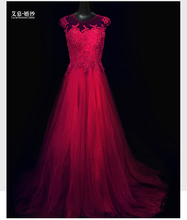 sexy see through back evening dress 2016 new arrival formal long burgundy prom dresses pearls a-line vestidos robe de soiree burgundy see through long sleeves frilling details zip mini dress