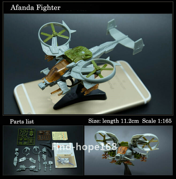 4D Avatar Scorpion Fighter Assembly Aircraft Model Puzzle Building Figure