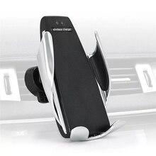 Автоматический зажим беспроводной автомобиля зарядное устройство крепление для iphone Android Air Vent держатель телефона 360 градусов вращения зарядки Кронштейн