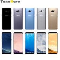 Unlocked Samsung Galaxy S8 Plus G955U/G955F 6.2 4GB RAM 64GB ROM Octa Core Fingerprint Snapdragon 835 NFC LTE Android Phone
