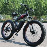 Lobo fang bicicleta elétrica 48 v 500 w motor 10/12ah 27 velocidade de alumínio dobrável bicicleta elétrica escondida bateria de lítio bicicleta elétrica|Bicicleta elétrica|   -