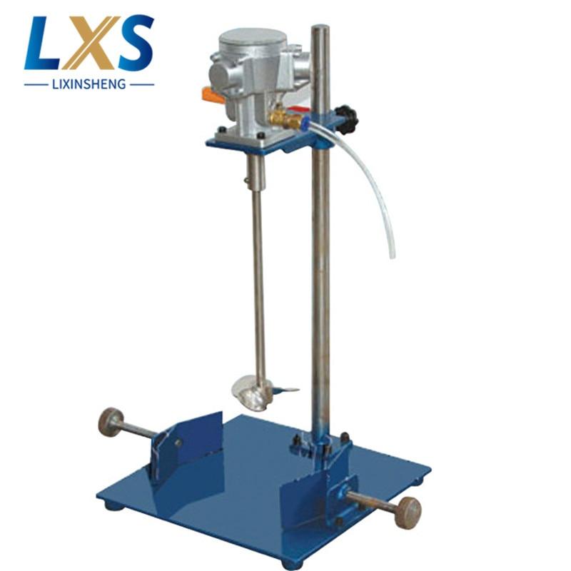 180L min Manual Lifting Pneumatic Paint Mixer Stainless Steel Mixer Blade Ink pneumatic agitator For Paint