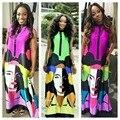2016 Продвижение Африки Базен Riche Африканские Женская Одежда Новые Dashiki Платье Succunct Tranditional Печати